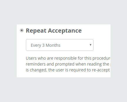 Repeat Acceptance